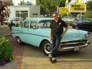 Chevy 57 - Ein Jahr nach dem Kauf mit American Racing Felgen