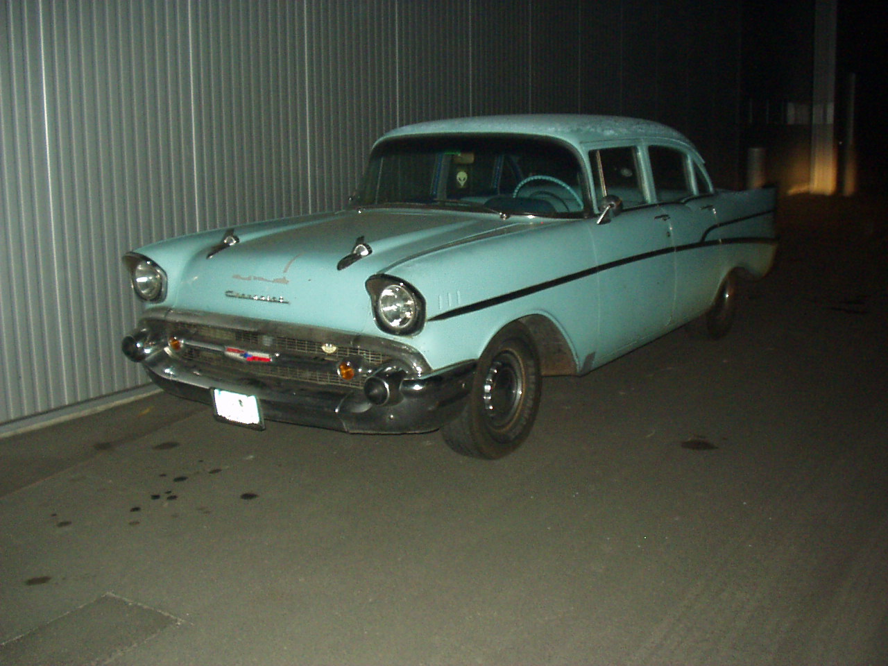 Chevy 57 Two-Ten beim Kauf 2004