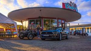 Mustang 2015 Cabrio vor' Cruise In